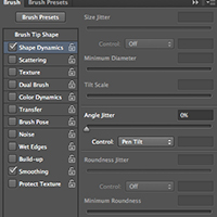 New Brush Features in Photoshop CS6