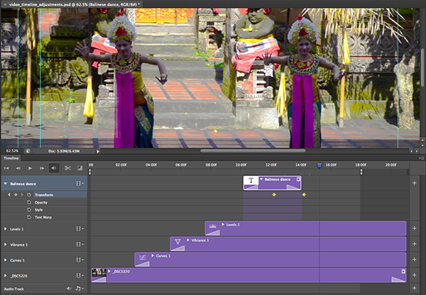 How to Use the New Timeline Panel in Photoshop CS6