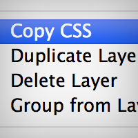 Quickly Convert Objects to CSS Using Photoshop CS6.1
