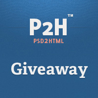 Win $300 Worth of PSD to HTML From PSD2HTML (x4)