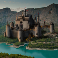 Paint a Castle in Photoshop &#8211; Part 1