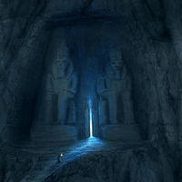 Create an Ancient Temple Entrance Carved in Rock – Psd Premium Tutorial