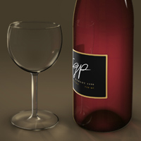 Create a Wine Bottle and Glass with Smart Objects – Psd Premium Tutorial