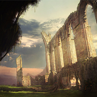 Create Ruins of a Forgotten Abbey in Photoshop &#8211; Psd Premium Tutorial