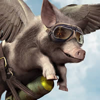 Create a Flying Pig with Poser and Photoshop – Tuts+ Premium Tutorial