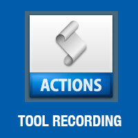Tool Recording Using Actions in Photoshop CS6