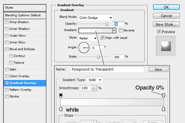 [Photoshop] Neon Text Effect Background-Gradient