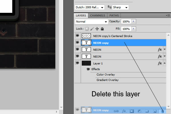 How do I delete a layer? | Adobe Community