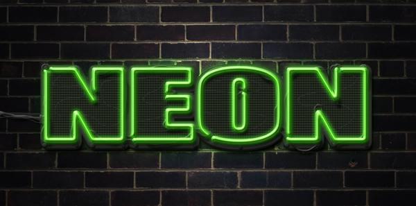 [Photoshop] Neon Text Effect Final
