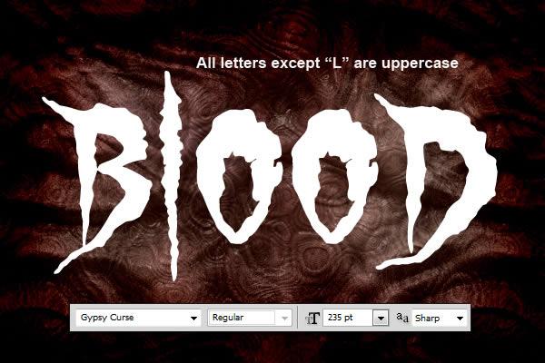 Học font Tạo Hiệu Ứng Text Bloody Thật Ấn Tượng trong Photoshop