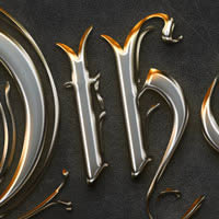 Quick Tip: Create a Crisp Metallic Text Effect in Photoshop