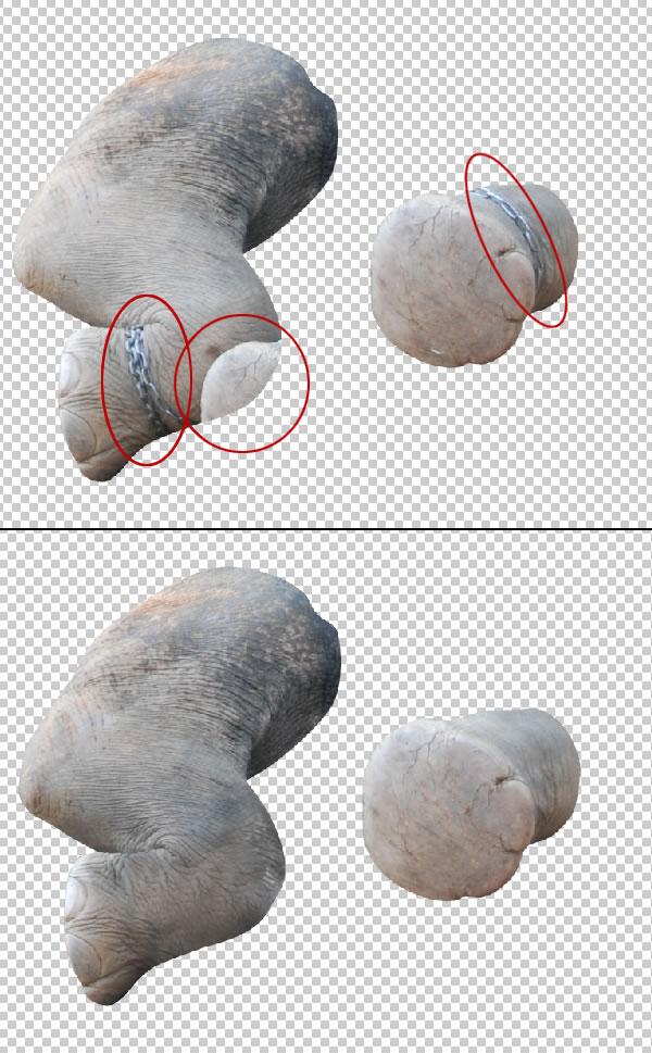 elephant 14 Tạo Một Ly Kem Hình Chú Voi trong Photoshop