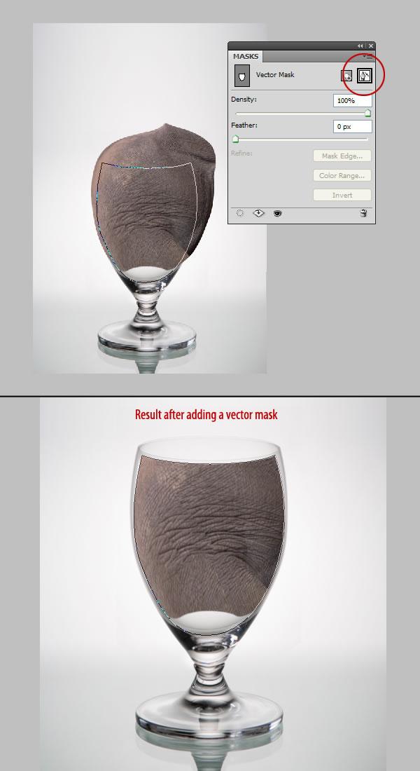 elephant 22 Tạo Một Ly Kem Hình Chú Voi trong Photoshop