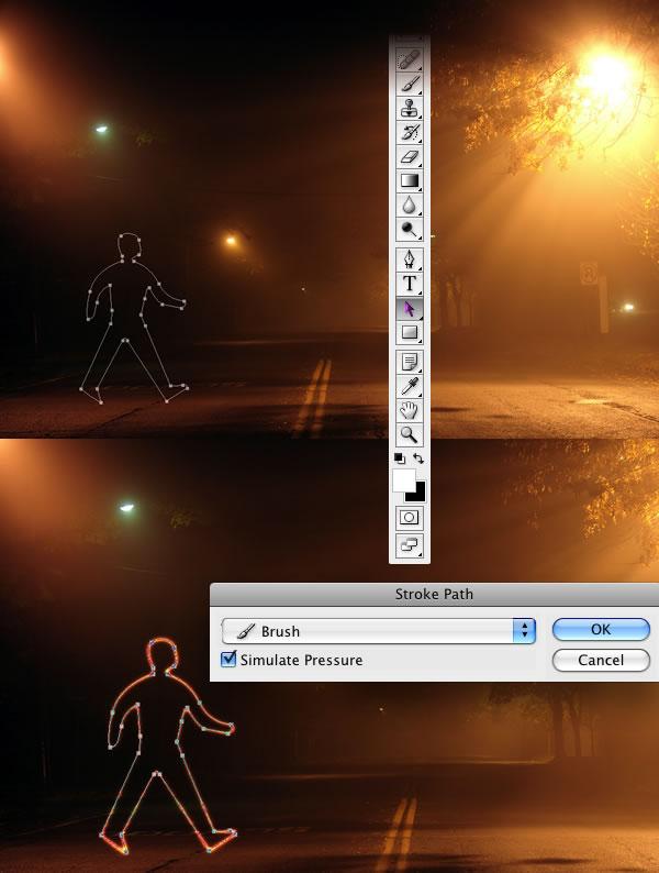 lg s6 Tạo Hiệu Ứng Glowing Light Painting