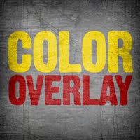 How to Use Color Overlay Within the Layer Styles Dialogue in Photoshop