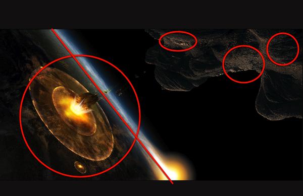 making an asteroid impact - photo #7