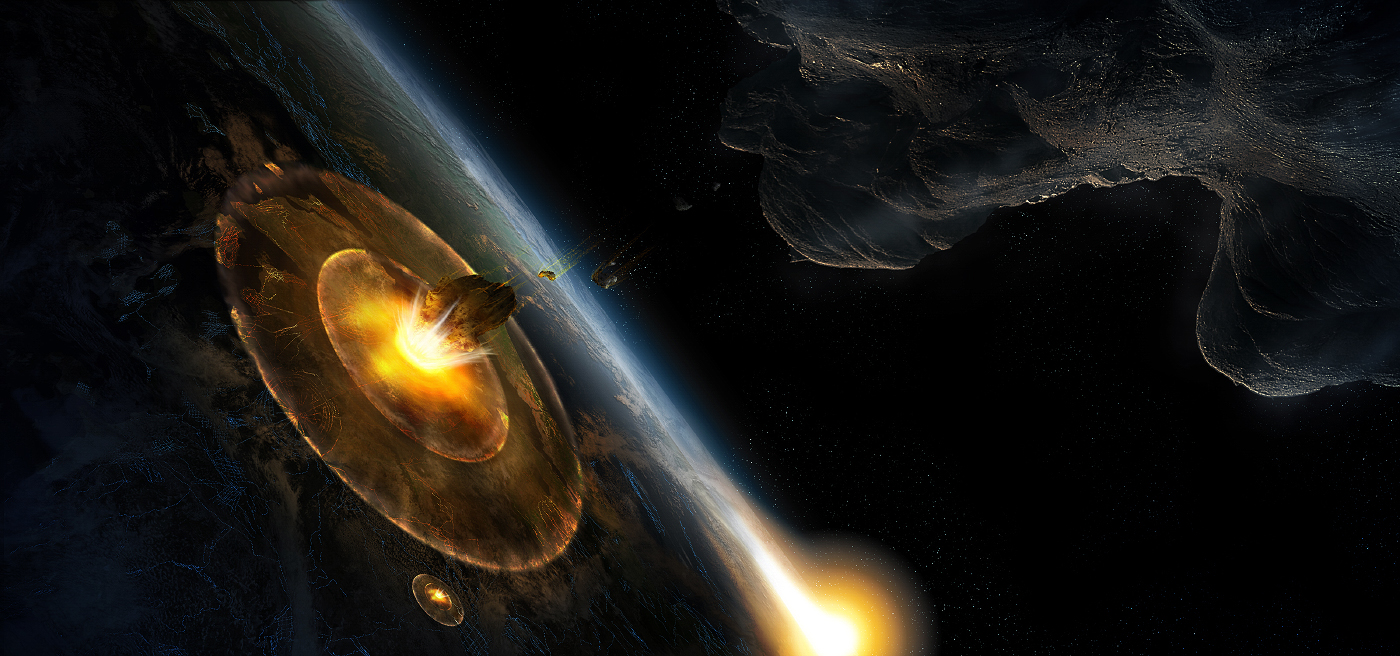 making an asteroid impact -#main